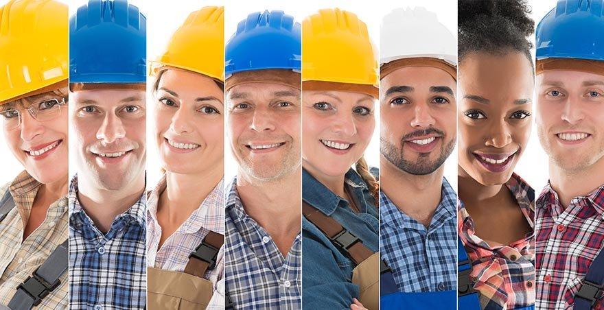 équipe d'entrepreneur en plomberie