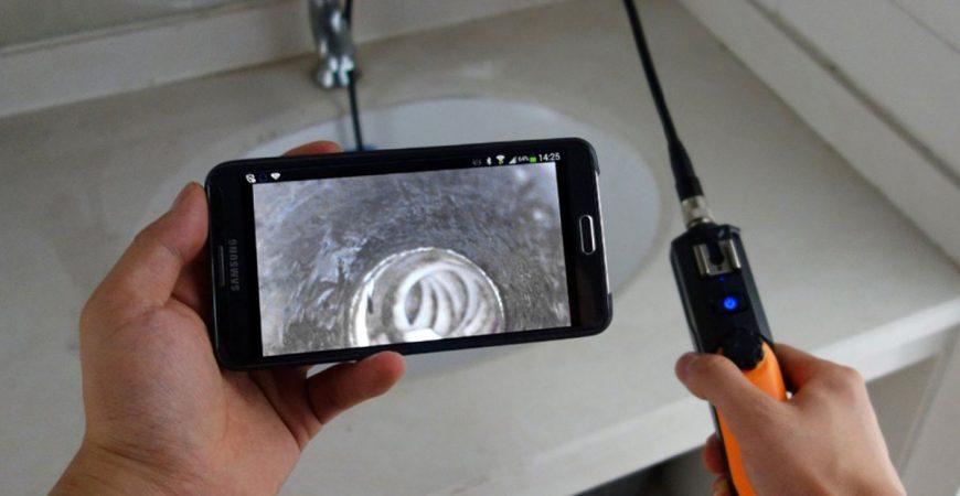 Plombier Boucherville, inspection par caméra
